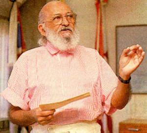 Brazilian educator and philosopher, Paulo Friere