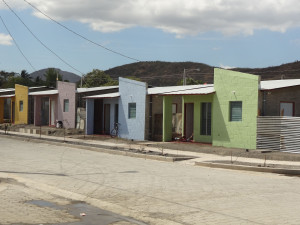 Housing development where Chureca families were relocated