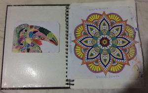 Quincho coloring book